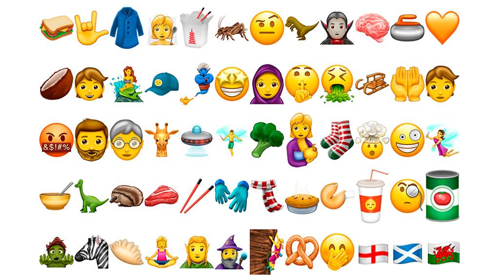 Neue Emojis Bedeutung