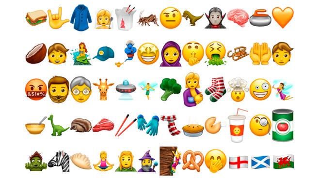 Neue Emojis ©The Unicode Consortium/emojipedia.org/COMPUTER BILD