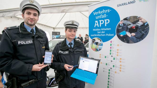 Polizei: Windows 10 ©Alex Schelbert - © Microsoft Deutschland