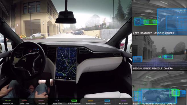 Tesla: Autopilot ©Tesla