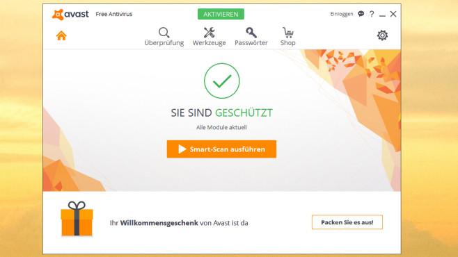 Avast Free Antivirus: Unerforschten Schadprogrammen vorbeugen ©COMPUTER BILD