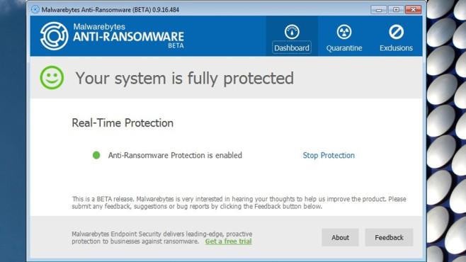 Malwarebytes Anti-Ransomware: Schutz vor Verschlüsslungstrojanern ©COMPUTER BILD