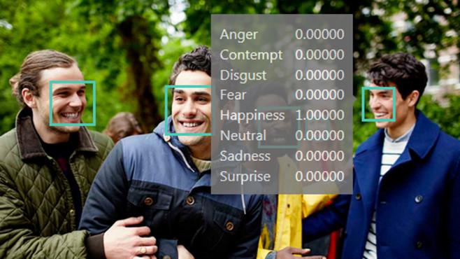 Microsoft Emotion Recognition: Gefühle offenlegen ©COMPUTER BILD