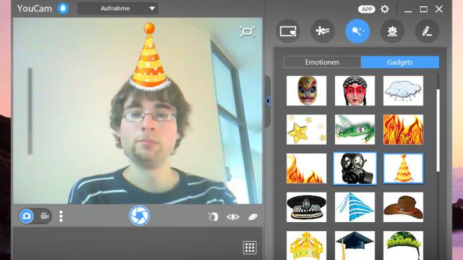 YouCam: Mehr mit der Webcam anstellen ©COMPUTER BILD
