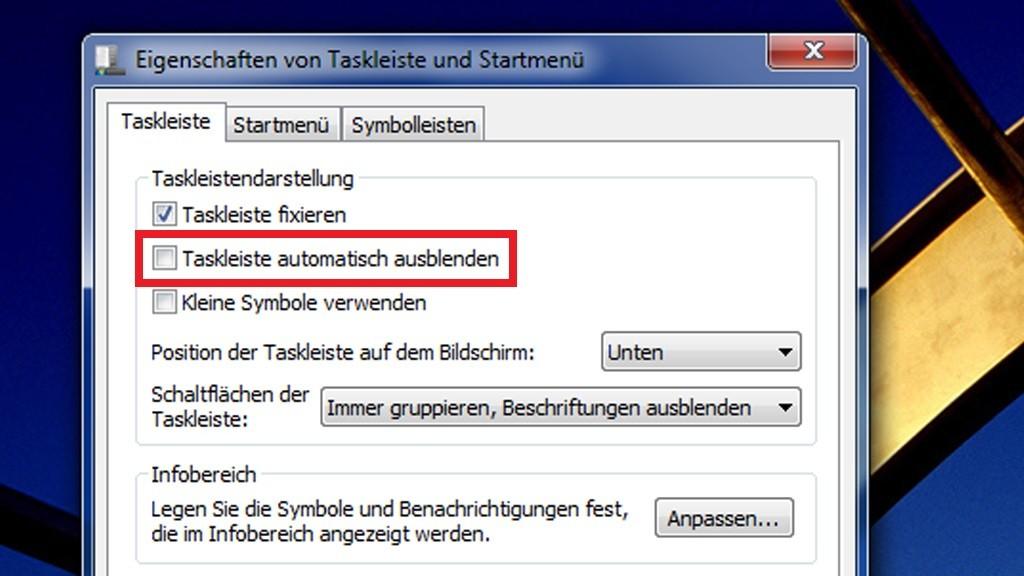 Durchstarten mit der Windows-Taskleiste - Bilder, Screenshots ...