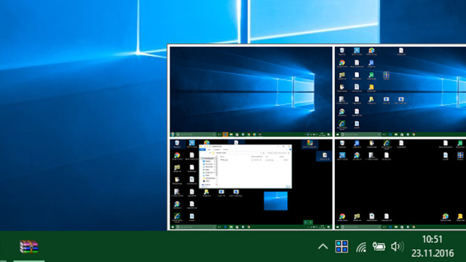 Virtuelle Desktops per Tool ©COMPUTER BILD