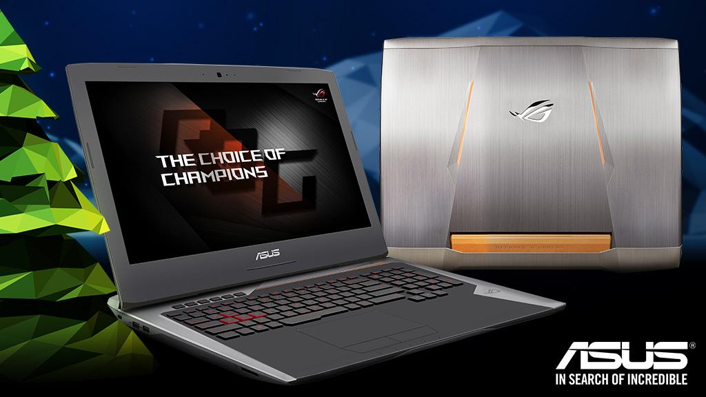 Gewinnen Sie ein Gaming-Notebook ROG-G752VS von Asus.©Asus, raincity - Fotolia.com, jillwt - Fotolia.com, Kundra - Fotolia.com