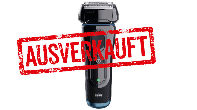 Braun 5040s-Wet&Dry Series 5 ©Media Markt