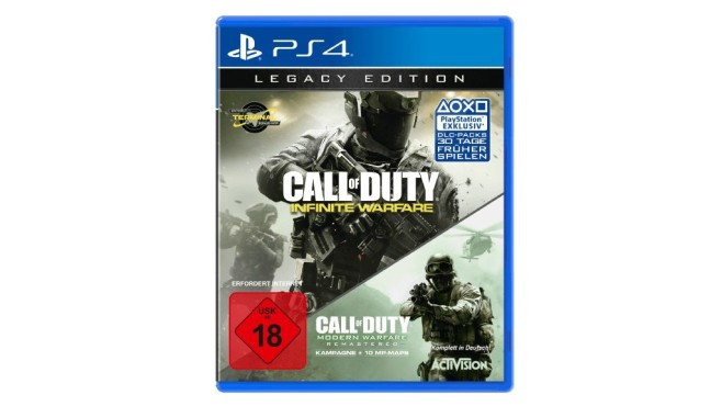 Call of Duty: Infinite Warfare – Legacy Edition (PS4) © Media Markt