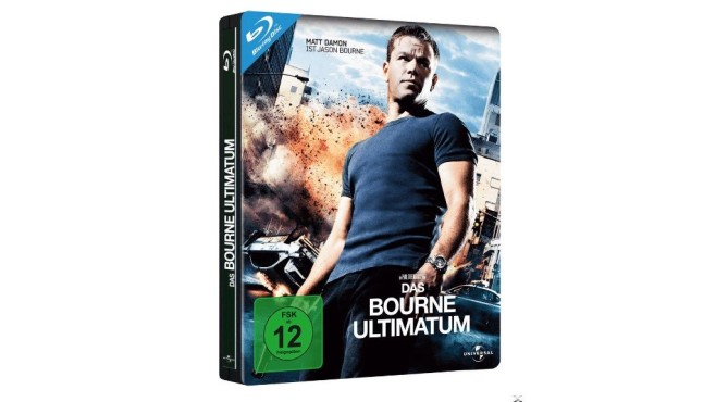 Das Bourne Ultimatum Steelbook Edition © Media Markt
