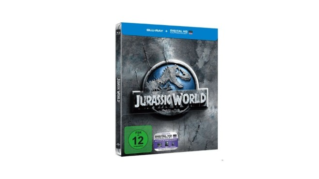 Jurassic World (Steelbook Edition) [Blu-ray] © Media Markt