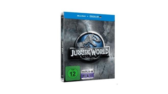 Jurassic World (Steelbook Edition) [Blu-ray] ©Media Markt