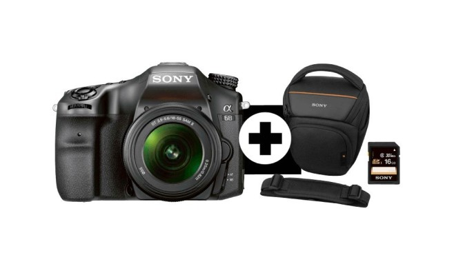 Sony Alpha 68 Kit 18-55 mm © Media Markt