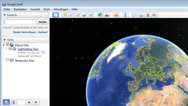 Platz 33: Google Earth (neu) ©COMPUTER BILD