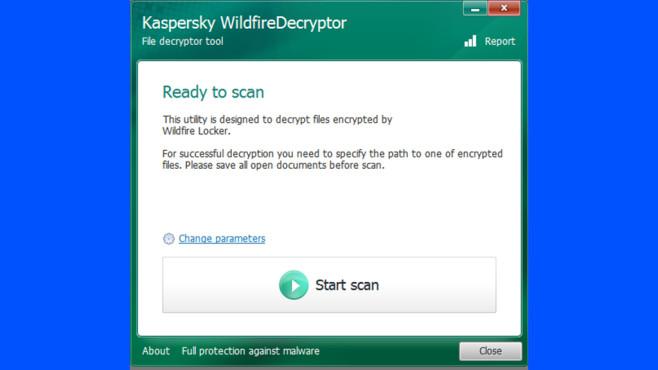Ransomware Decryptor ©COMPUTER BILD