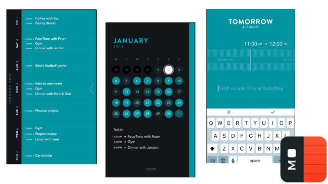 Timepage – Kalender ©Moleskine