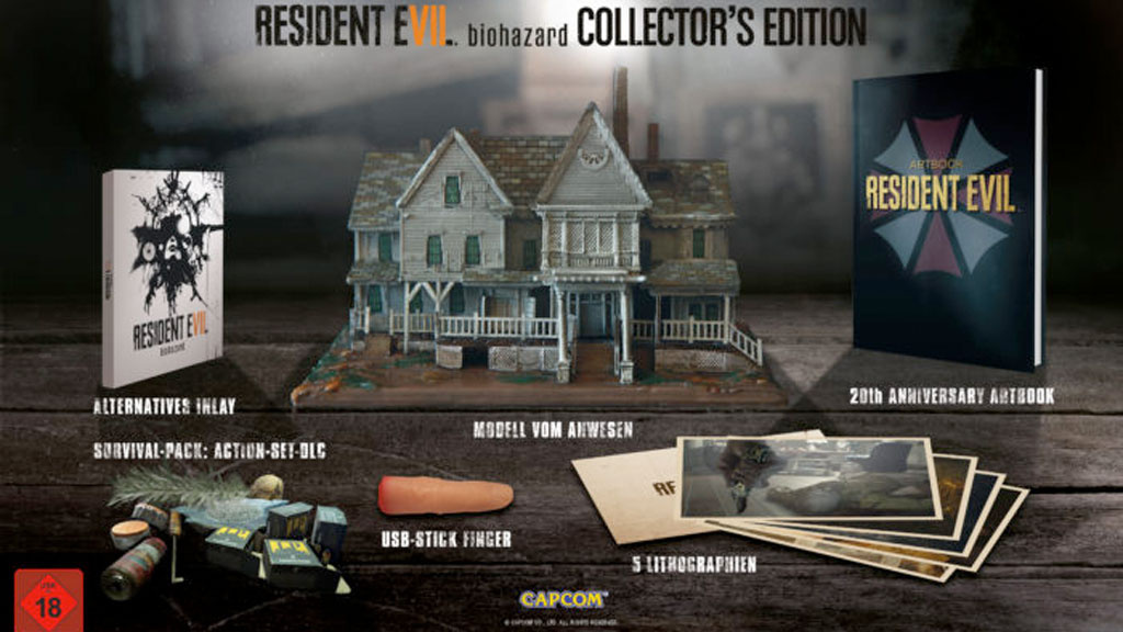 resident evil 7 collector 39 s edition computer bild spiele. Black Bedroom Furniture Sets. Home Design Ideas
