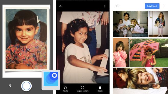 Fotoscanner von Google ©Google Inc