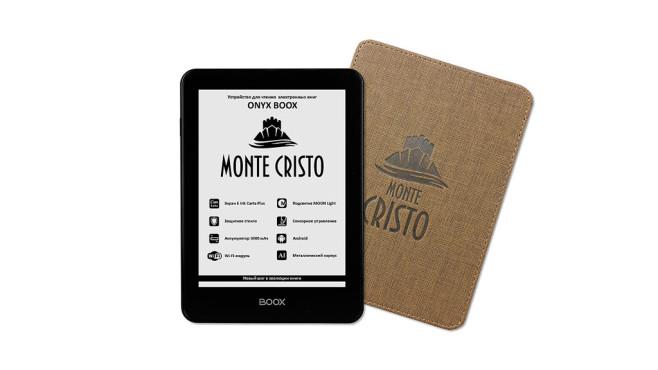 Mit dem eReader Monte Cristo will Onyx Boox den europäischen Markt aufmischen ©Onyx Boox