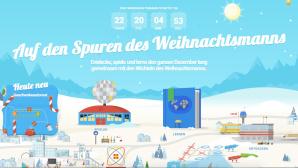 Google Santa Tracker ©Google