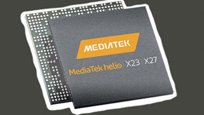 Mediatek: Helio X23 und X27 ©Mediatek