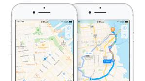 Apple: Maps ©Apple