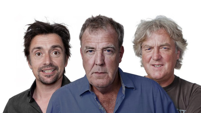 Clarkson, May und Hammond © Drivetribe