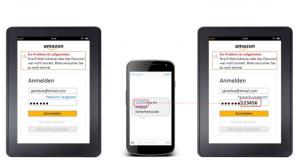 Amazon: Zwei-Faktor-Authentifizierung ©Amazon