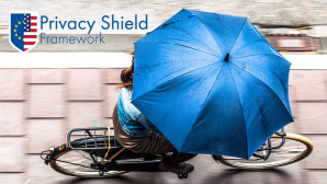 Privacy Shield: Schirm © privacyshield.gov, Photo by Stuart Gleave/gettyimages