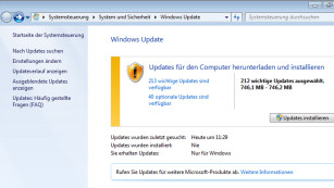 nach office updates suchen