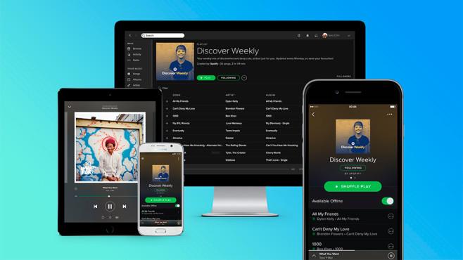 Spotify Free wird um eine Funktion reicher ©Spotify