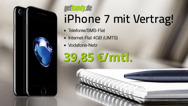 iPhone 7 bei Gethandy ©Gethandy