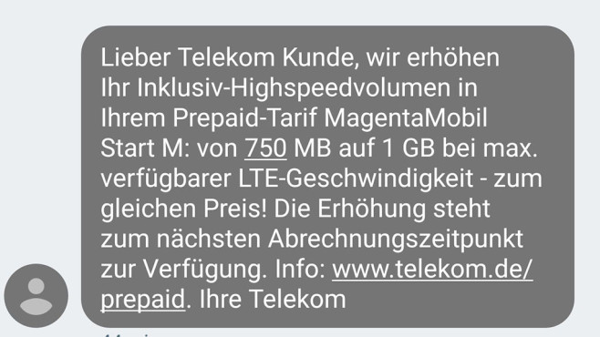 Telekom Tempo-Upgrade ©Screenshot: COMPUTER BILD