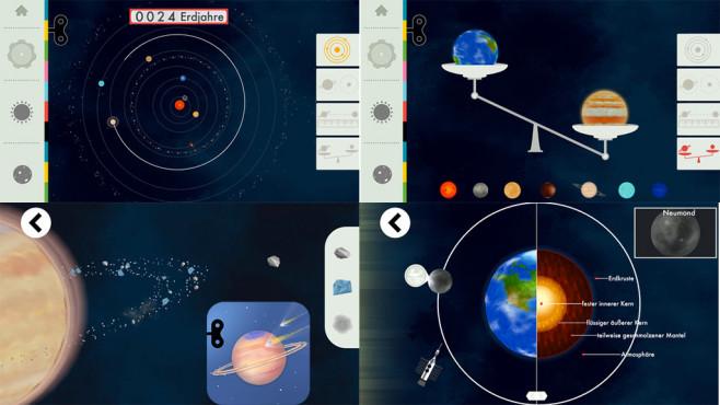 Das Sonnensystem von Tinybop ©Tinybop