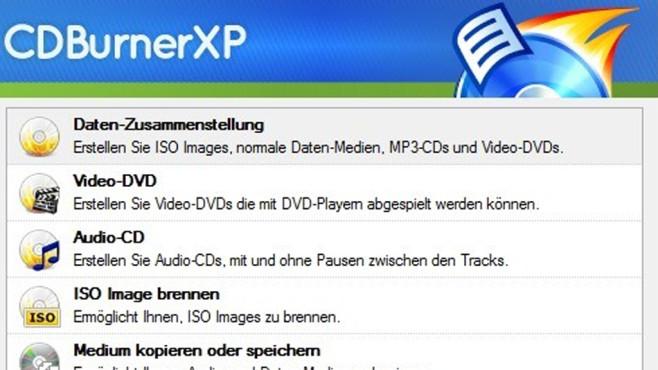 CDBurnerXP ©COMPUTER BILD