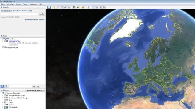 Google Earth Pro – Kostenlose Vollversion ©COMPUTER BILD