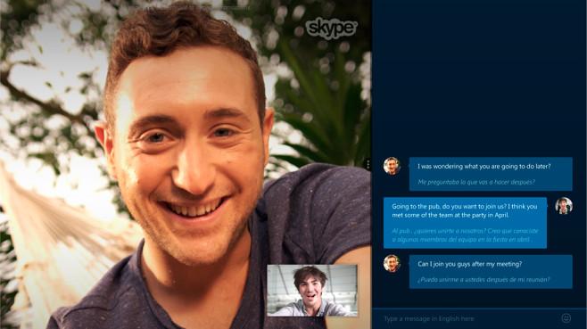 Skype übersetzt Festnetz-Anrufe ©Skype