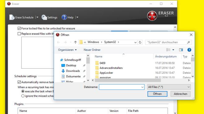 Dateien sicher löschen ©COMPUTER BILD