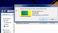Papierkorb für USB-Stick-Dateien ©COMPUTER BILD