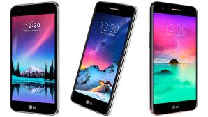 LG K4, K8 und K10 2017 ©LG