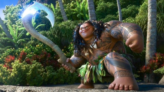 Maui in Kampfpose © Disney