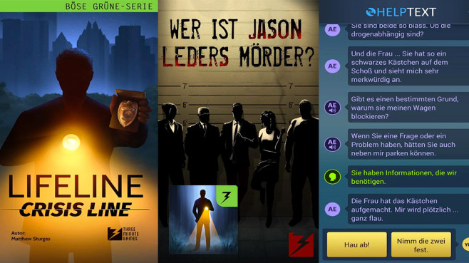 Lifeline – Crisis Line © 3 Minute Games