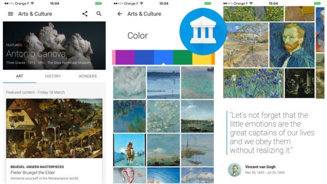 Arts & Culture © Google Inc.