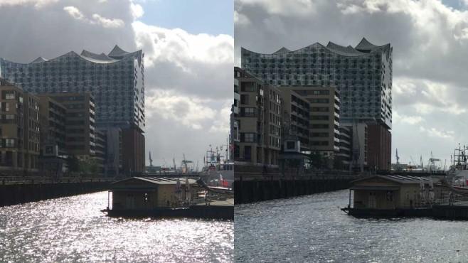 Kameravergleich Gegenlicht Zoom S vs. IPhone 7 Plus ©COMPUTER BILD