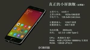 Xiaomi Mi S©Xiaomi / androidheadlines.com