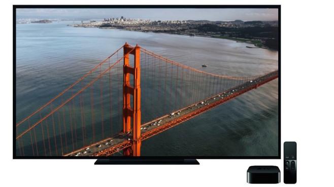 Apple TV Bildschirmschoner ©Apple, COMPUTER BILD