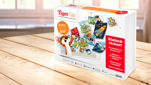 Das TigerTab für Kinder © Tiger Media