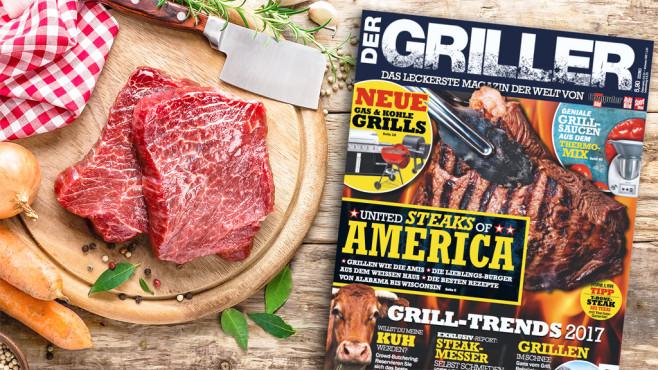 DER GRILLER: Die neue Ausgabe ist da! ©COMPUTER BILD, ©istock.com/YelenaYemchuk