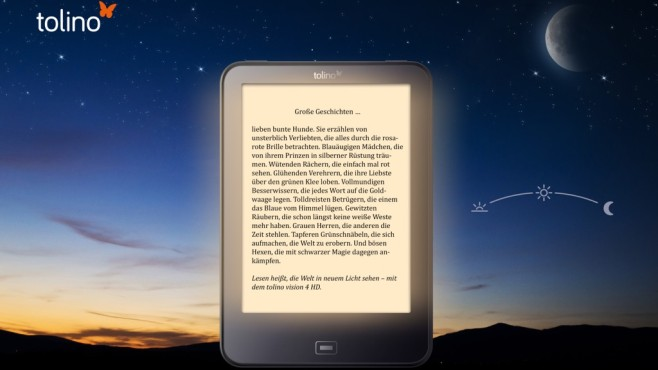 Tolino-eBook-Reader ©Telekom