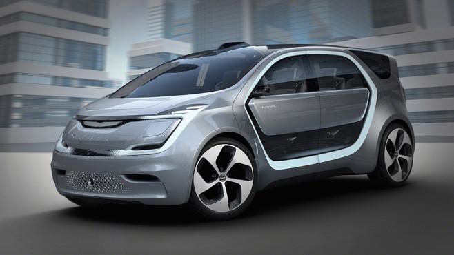 Das Konzeptauto Portal setzt auf Social-Media im Auto ©FCA